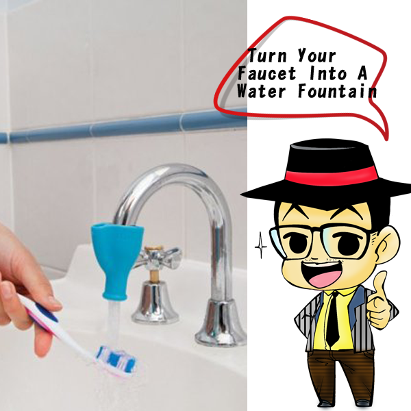 Turn Your Faucet Into A Water Fountain | 同鈞官網